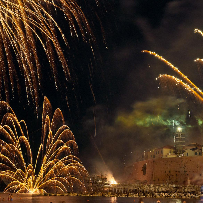 L'incendio del Castello a Termoli