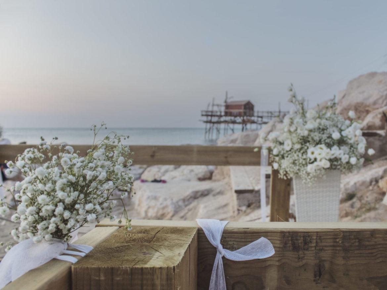 "Matrimonio Spiaggia Termoli : ""wedding on the beach ecco le foto del primo matrimonio"