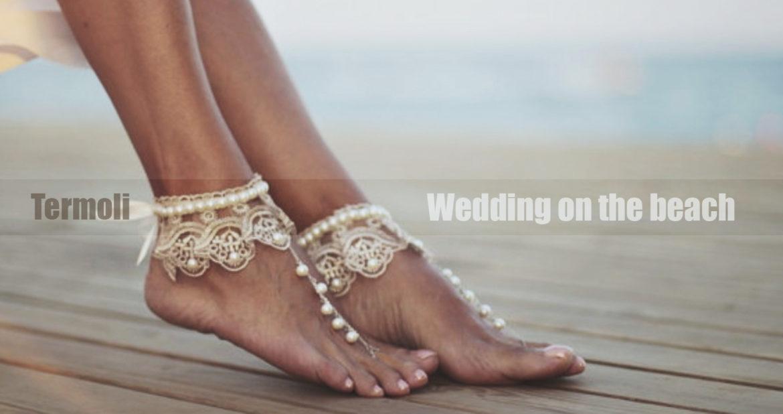 Termoli matrimonio in spiaggia in riva al mare