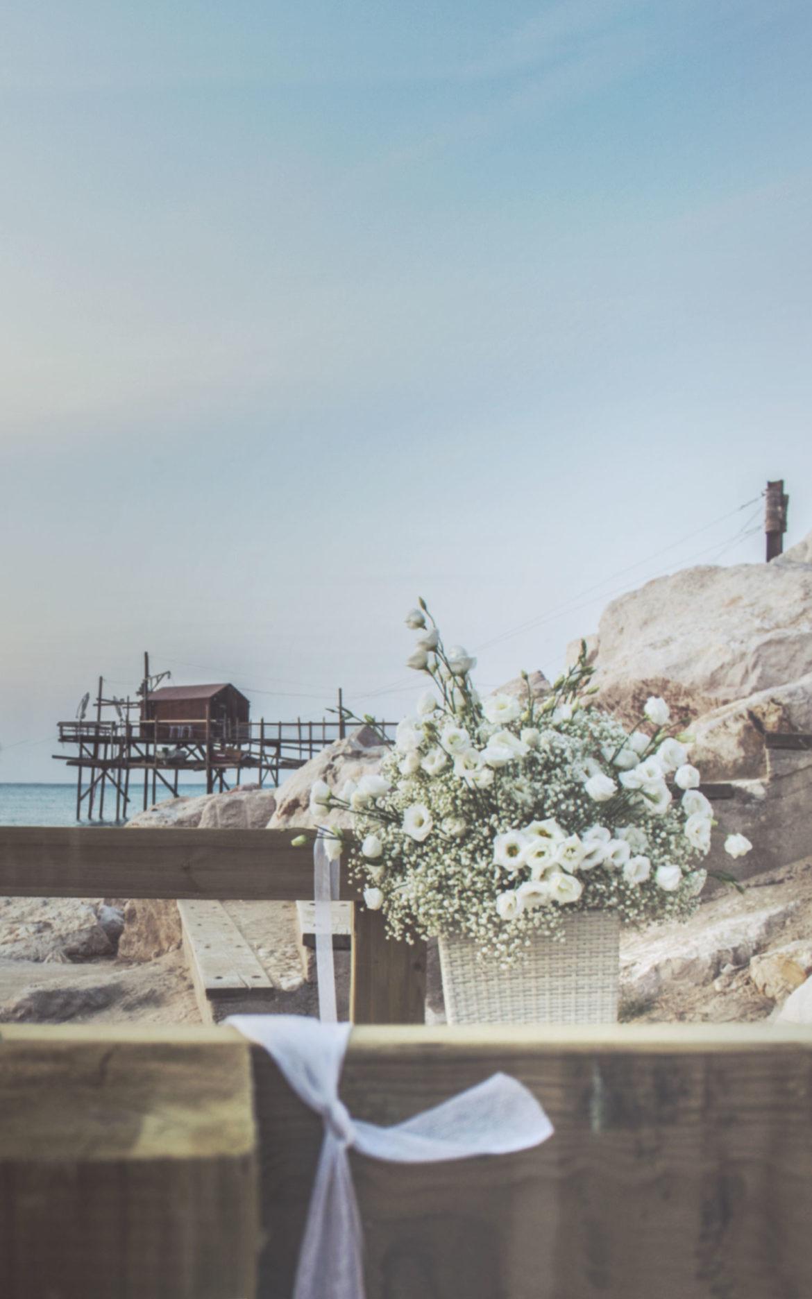Wedding on the beach a Termoli