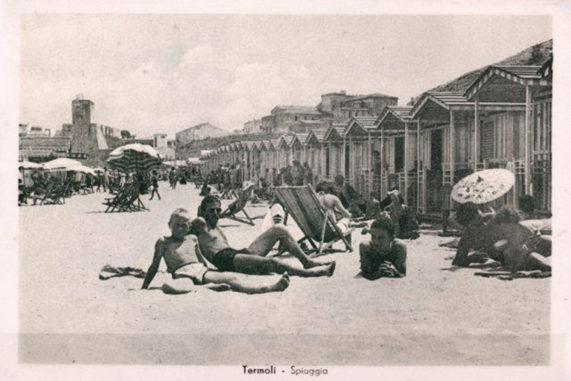Spiagge Termoli in bianco e nero