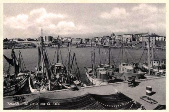Porto di Termoli in bianco e nero