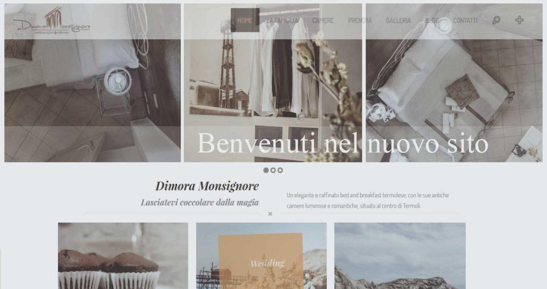 Benvenuti nel nuovo sito Dimora Monsignore