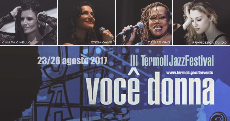 Termoli Jazz Festival 2017: dal 23 al 26 nel Borgo Antico.
