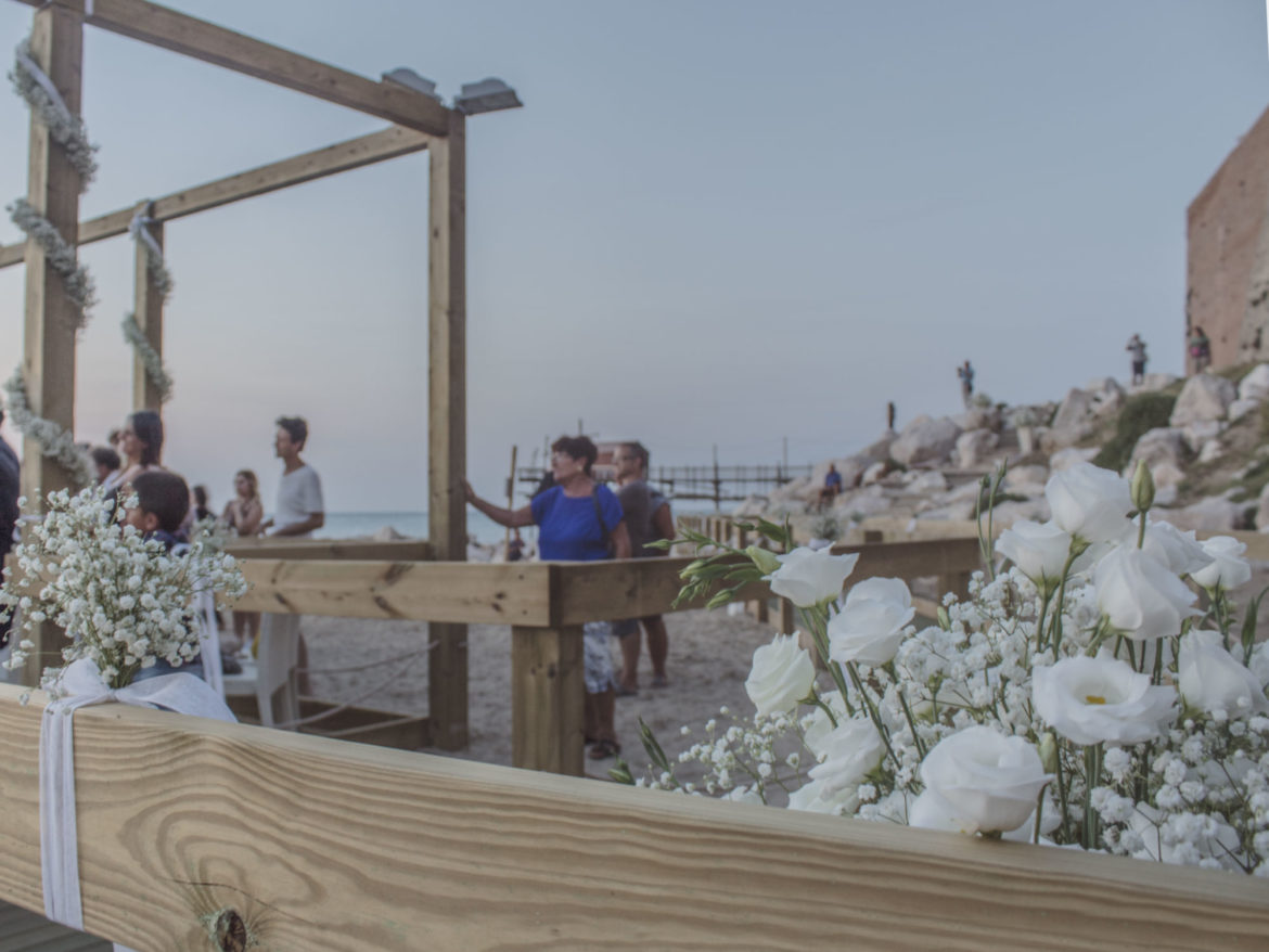 Wedding on the beach a Termoli