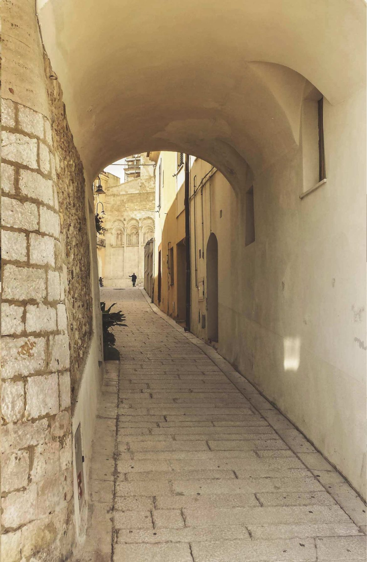 Camminare per i vicoli del Borgo Antico di Termoli