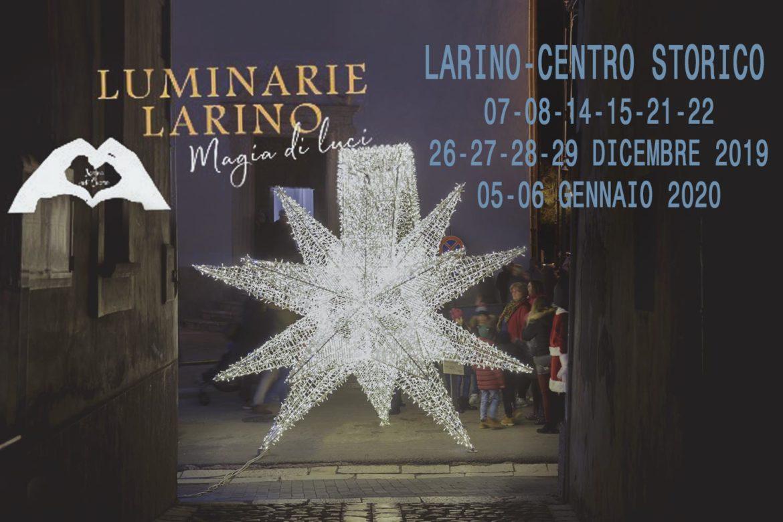 """A Larino """"Magia di luci"""" illumina il Natale 2019"""