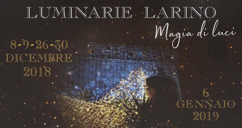 """""""Magia di luci"""" illumina il Natale di Larino"""