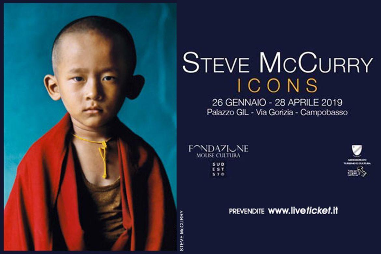 Steve McCurry in Molise: una mostra a Palazzo ex Gil di Campobasso