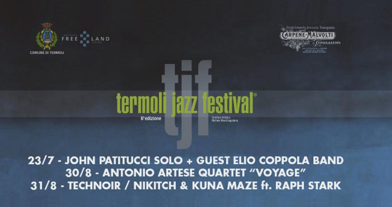 Termoli Jazz Festival 2109: dal Macte al Borgo Antico