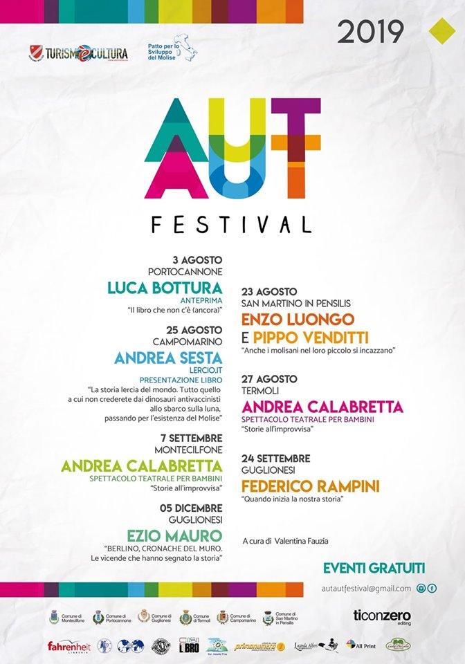 """Tra scorci incantevoli, """"Aut Aut Festival"""" 2019 anima i borghi del Molise."""