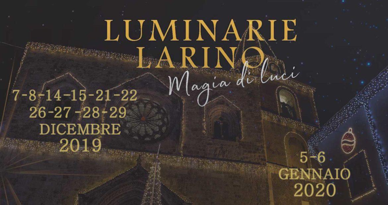 """A Larino, torna la """"Magia di luci"""" artistiche per illuminare il Natale 2019"""