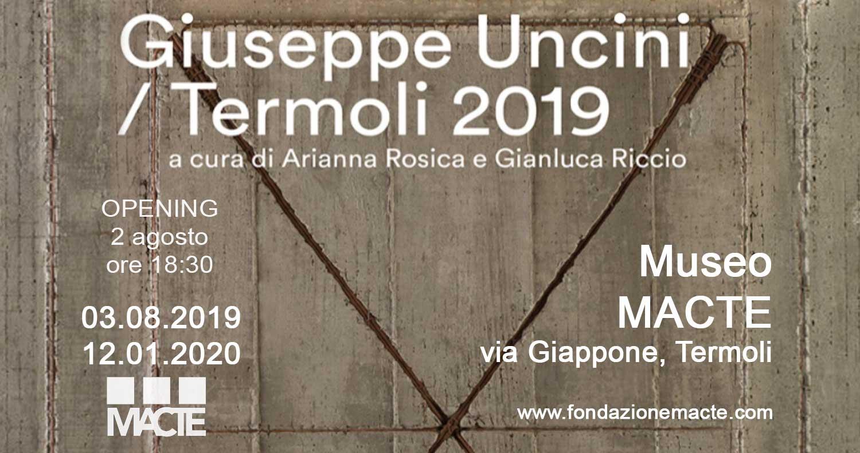Mostra di Giuseppe Uncini: scultore italiano tra forme e materiali al MACTE di Termoli in Molise