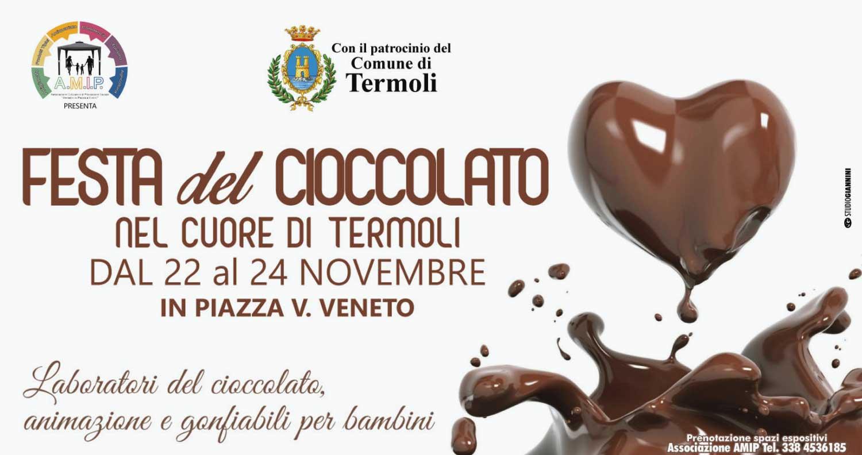 """Termoli ospita la """"Festa del Cioccolato"""" dal 22 al 24 novembre"""
