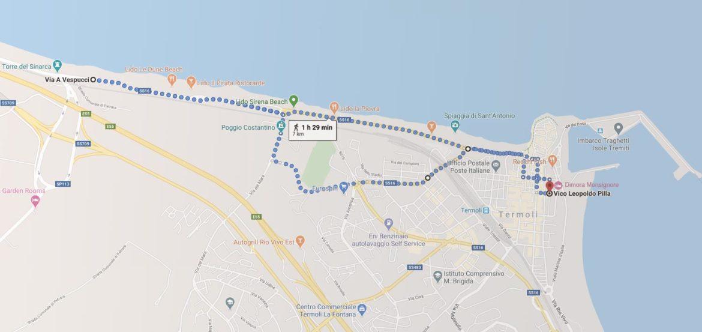 Un nuovo modo di camminare, il Nordic Walking sul lungomare di Termoli