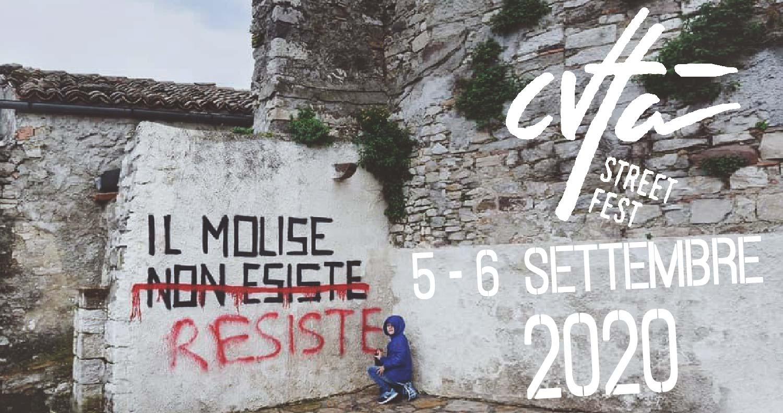 """""""Cvtà Street Fest"""" edizione 2020, nel borgo di Civitacampomarano, il 5 e 6 settembre"""