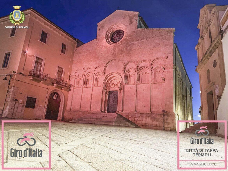 La Cattedrale di Termoli rosa